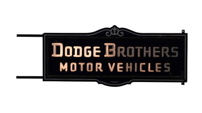 Dodge Brothers Motor Vehicles 84x36x8