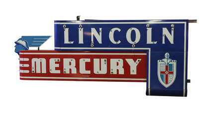 Lincoln Mercury 128x54x12