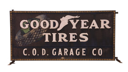 Goodyear Tires C.O.D. Garage Co 96x45x10
