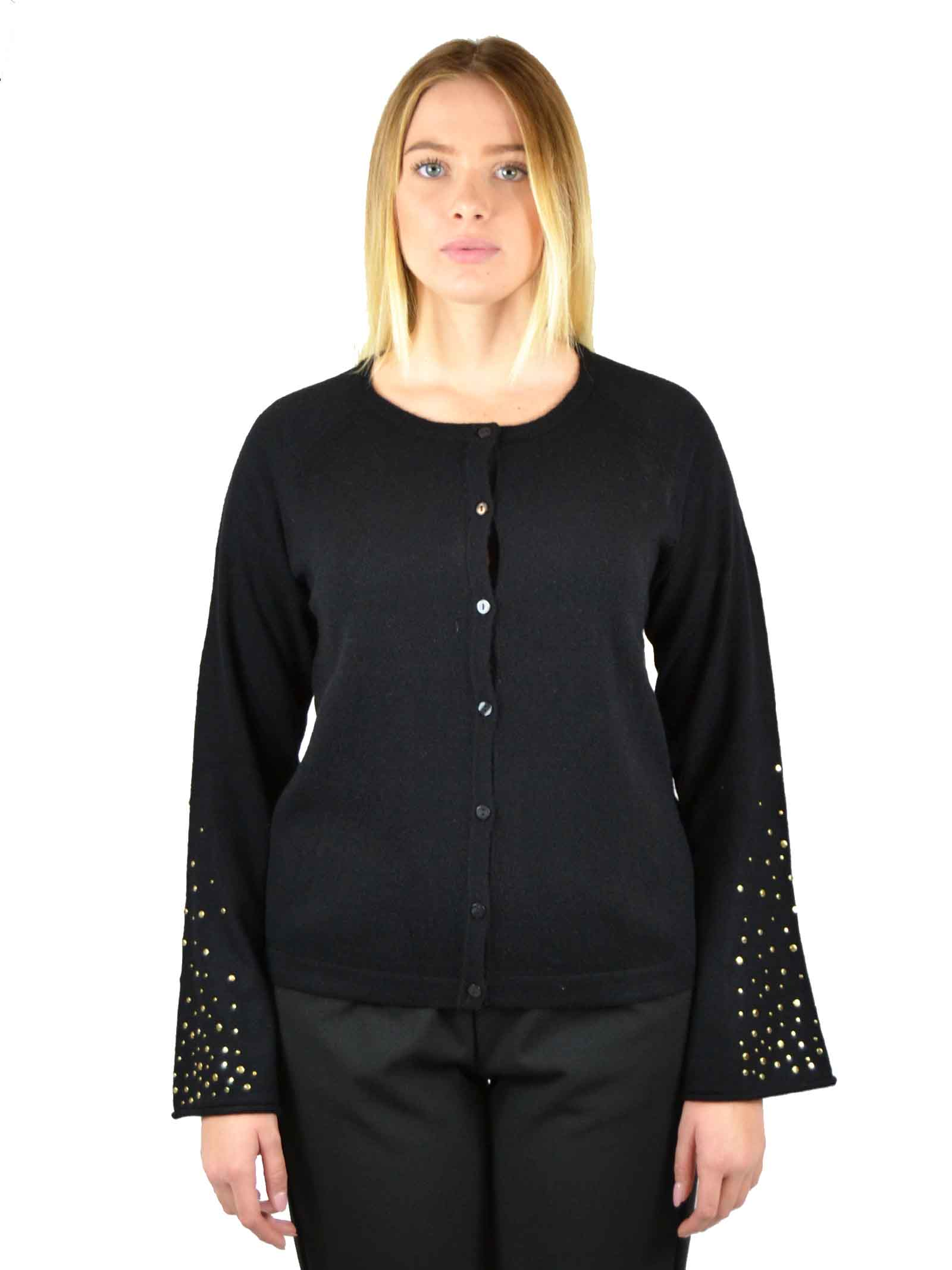 Wool sweater with buttons DIANA GALLESI |  | M250J022NM3301