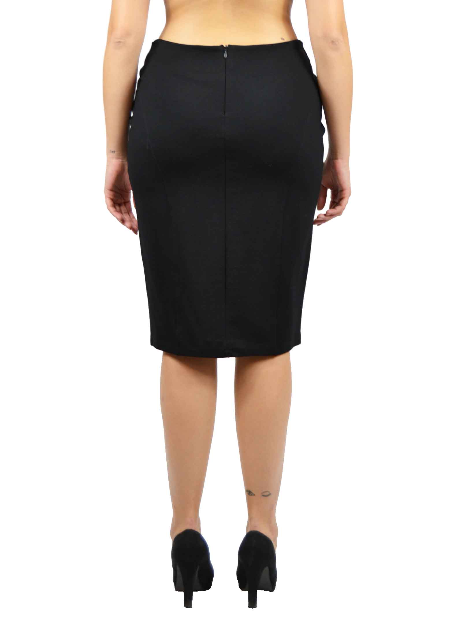 Tight sheat Skirt in Milano stitch fabric MEALYS |  | CY-G32503