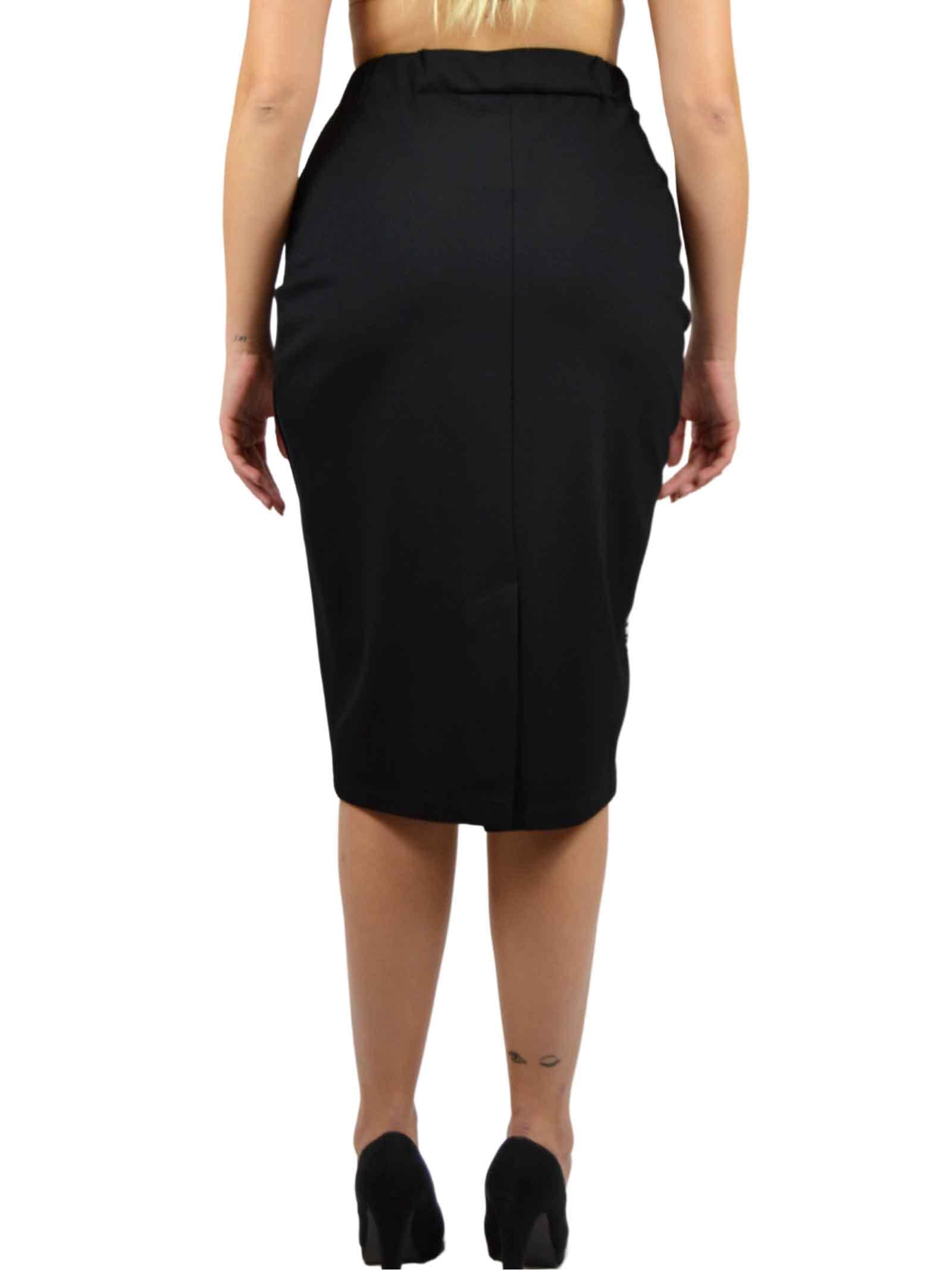 Stretch pencil Skirt with elastic waist  MEALYS |  | CY-G33001