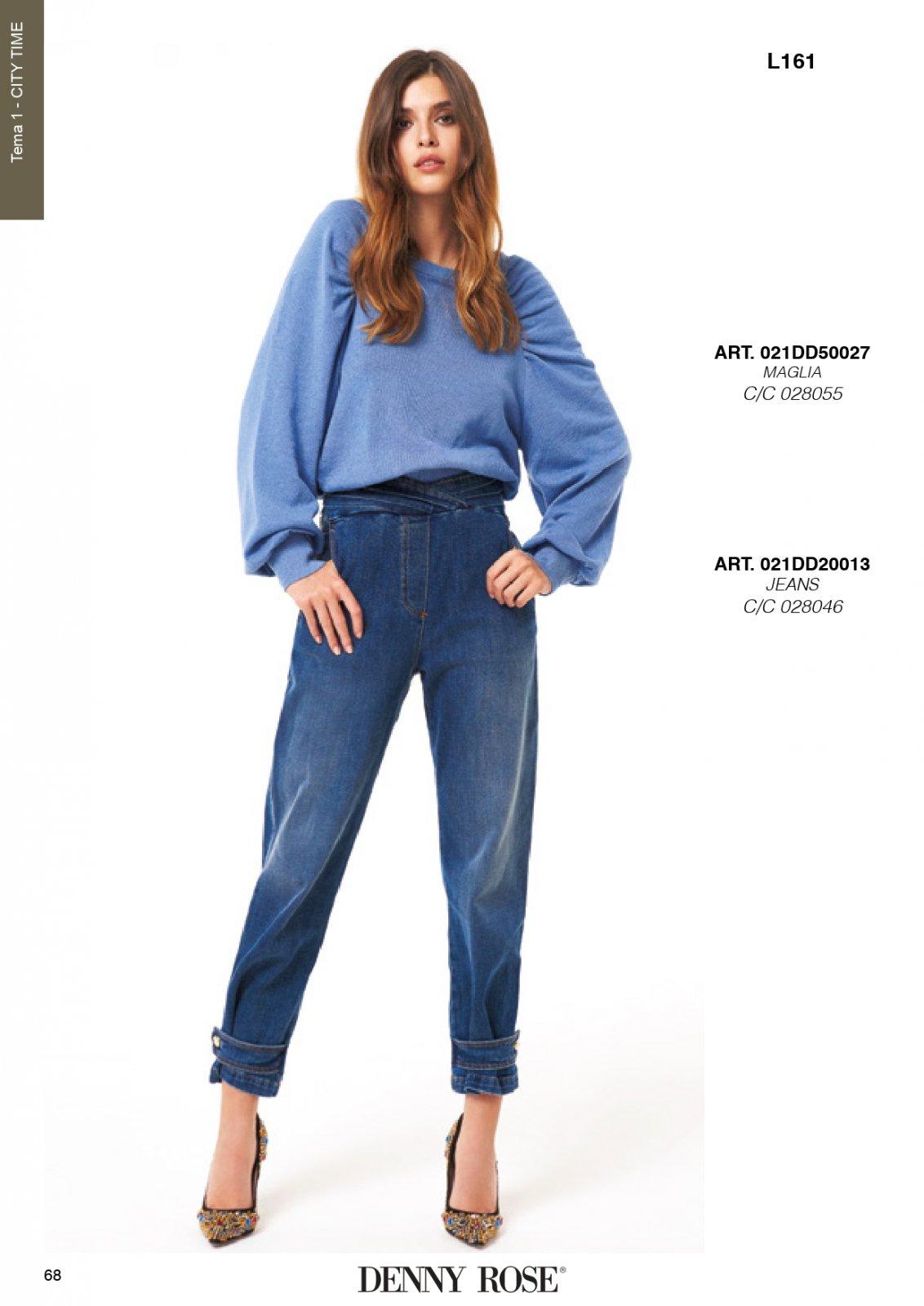 Jeans denim modello boy  DENNY ROSE | Tuta | DD2001300