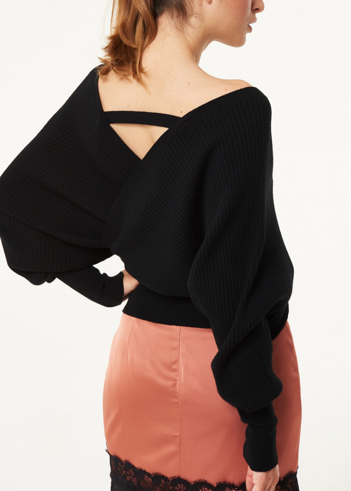 Crossover wool sweater DENNY ROSE |  | DD500162001