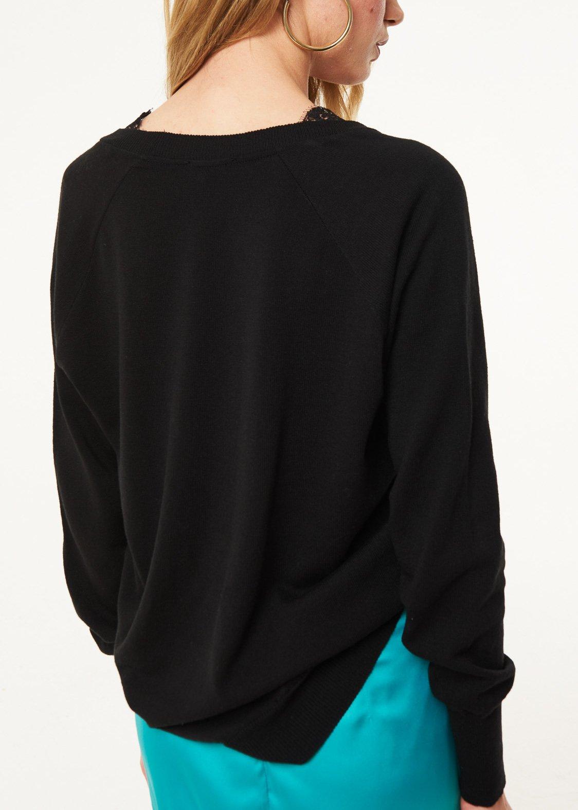 Wool sweater with V-neckline  DENNY ROSE |  | DD500282001