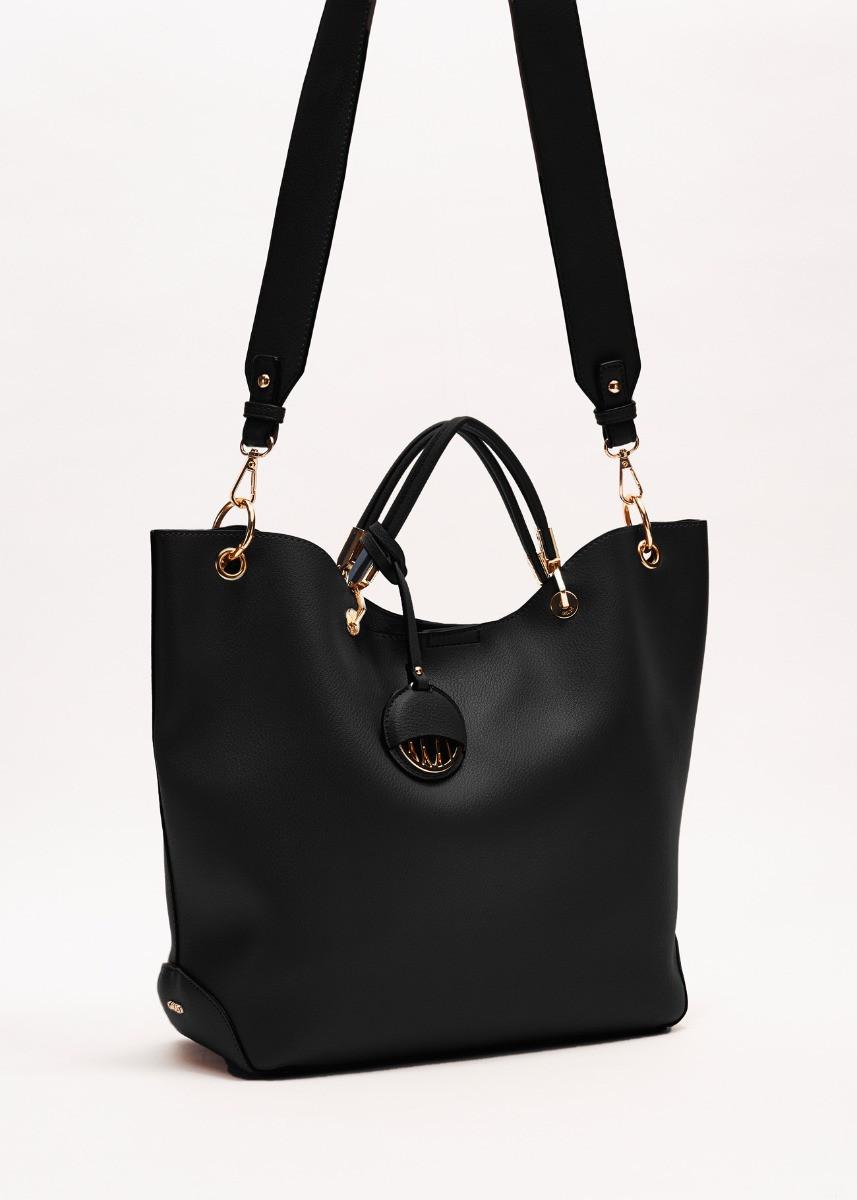 Shoulder bag realized soft leather effect texture GAUDI borse |  | V0A-71503BLACK