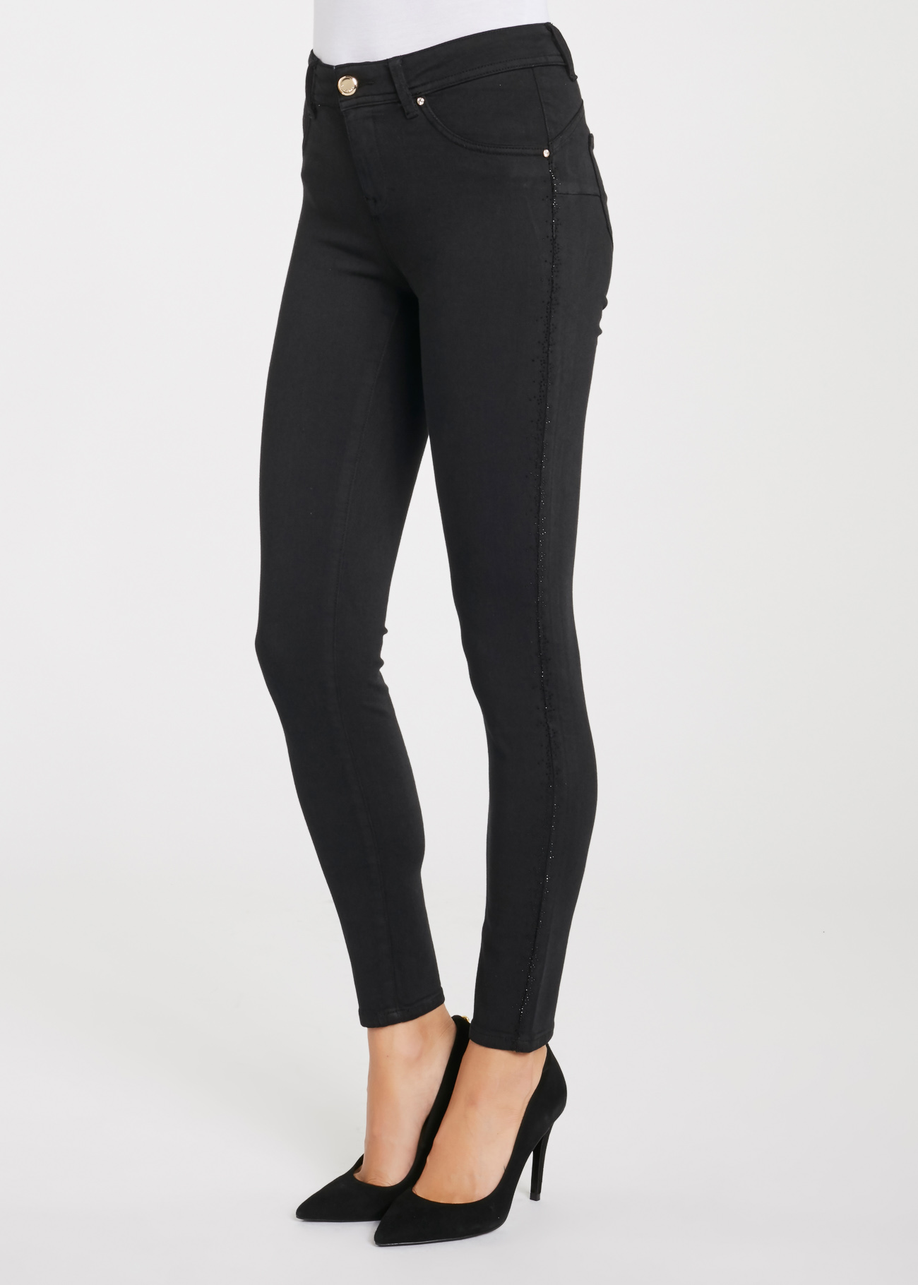5-pocket trousers,  slim fit very elastic trousers  GAUDI |  | BD250042001