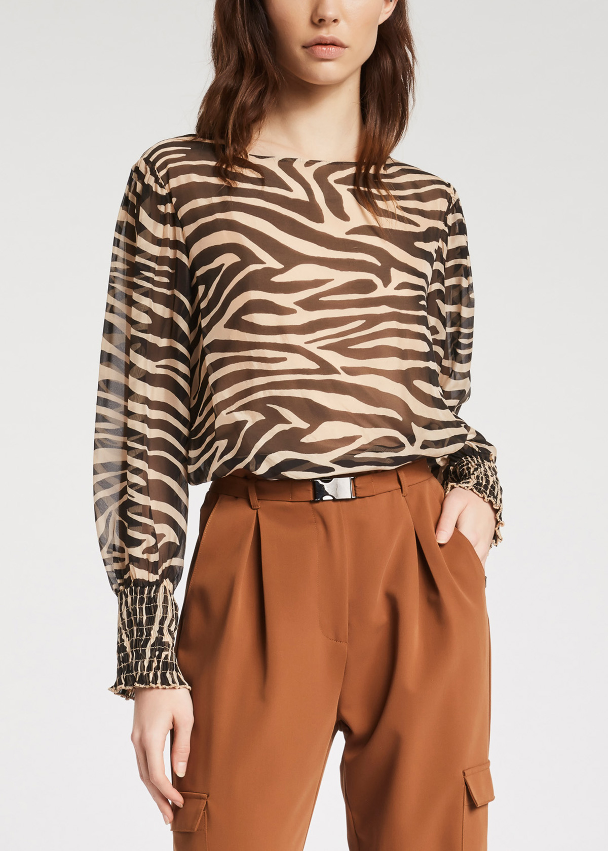 Georgettes shirt GAUDI      FD4503102107-01