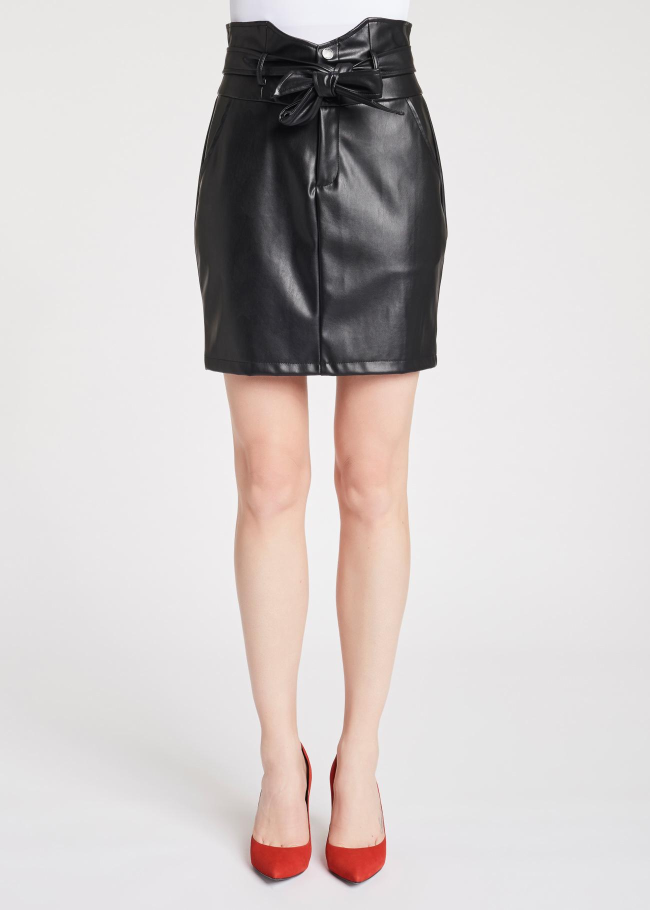 Short dress in faux-leather GAUDI |  | FD780012001