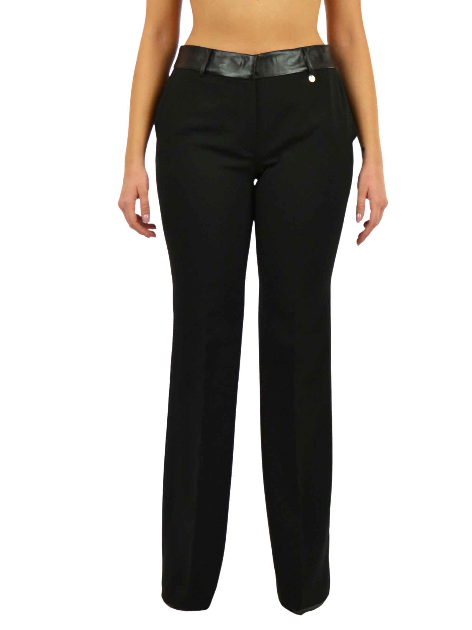 Trousers in stretch technical fabric LIUJO COLLECTION |  | CF0045T240422222