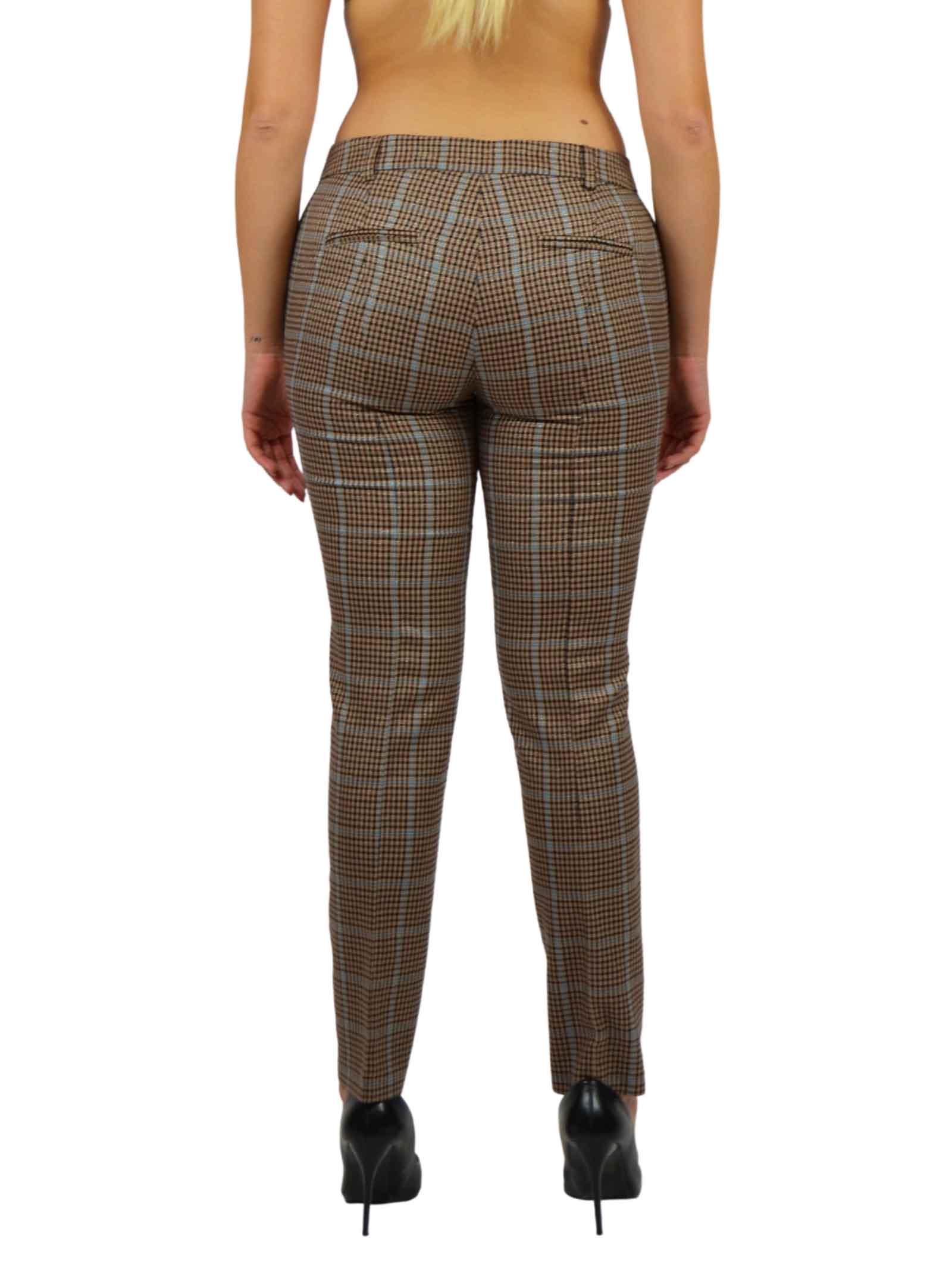 Trousers in prince of wales LIUJO COLLECTION |  | CF0142T241004988