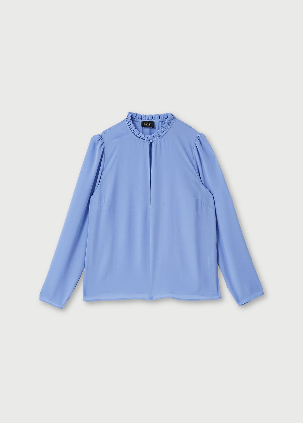 Camicia in georgettes  LIUJO COLLECTION   Camicie   CF0149T235364031