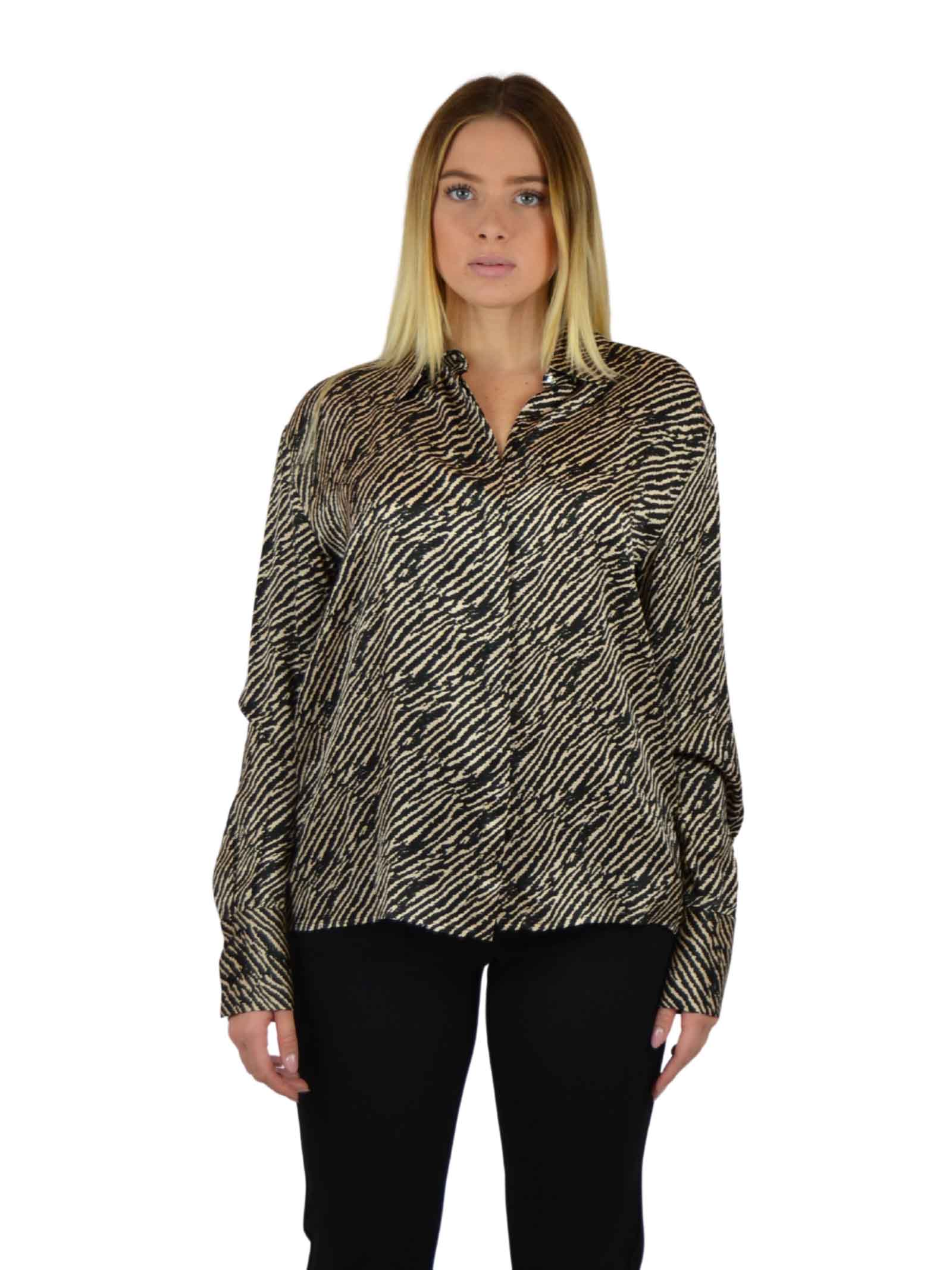Long sleeve shirt with concealed buttons LIUJO COLLECTION |  | CF0242T2417T9248