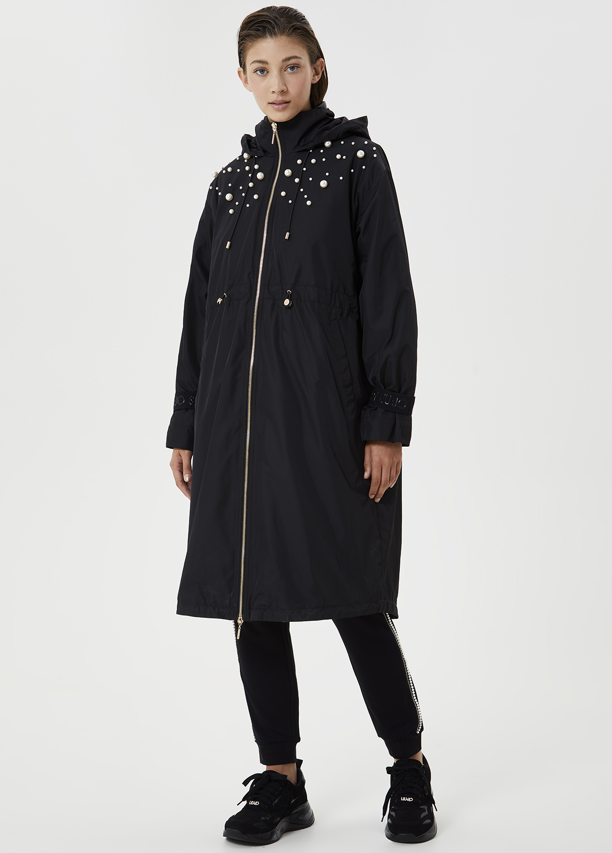Quilted jacket with pearls LIUJO SPORT |  | TF0014T455922222
