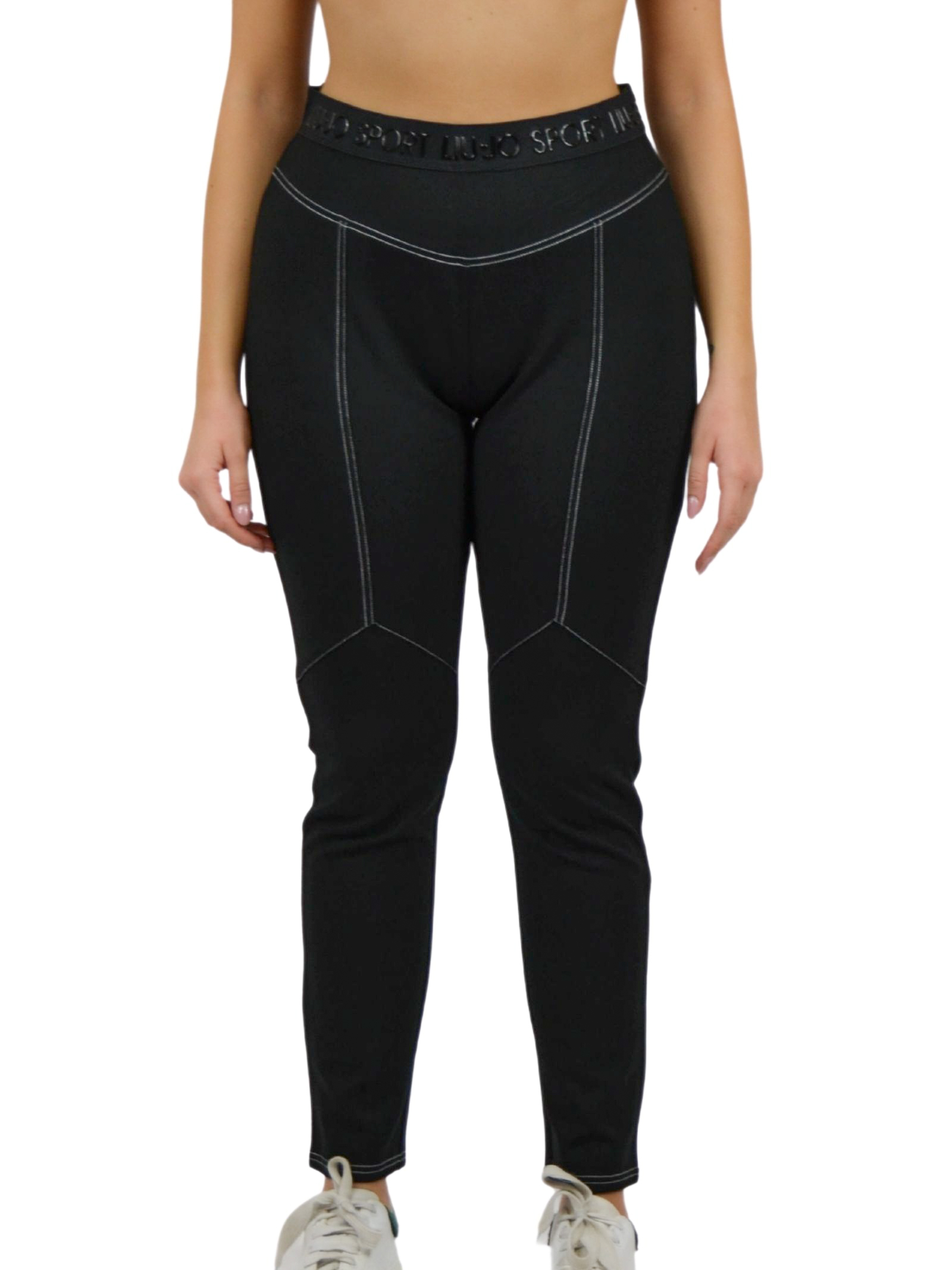 Warm cotton trousers with elastic at the waist  LIUJO SPORT |  | TF0020J789822222