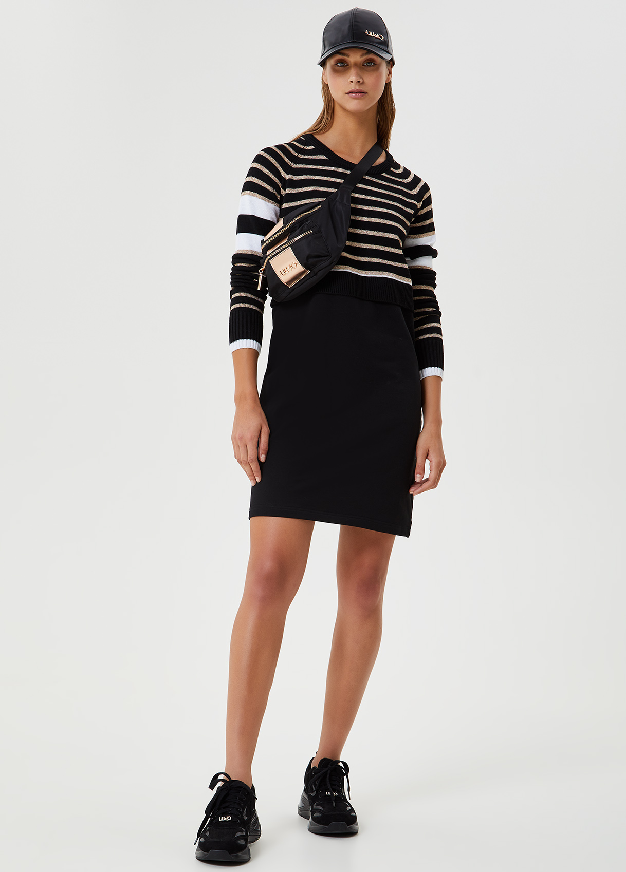 Short dress and long sleeves LIUJO SPORT |  | TF0067F0827D1414