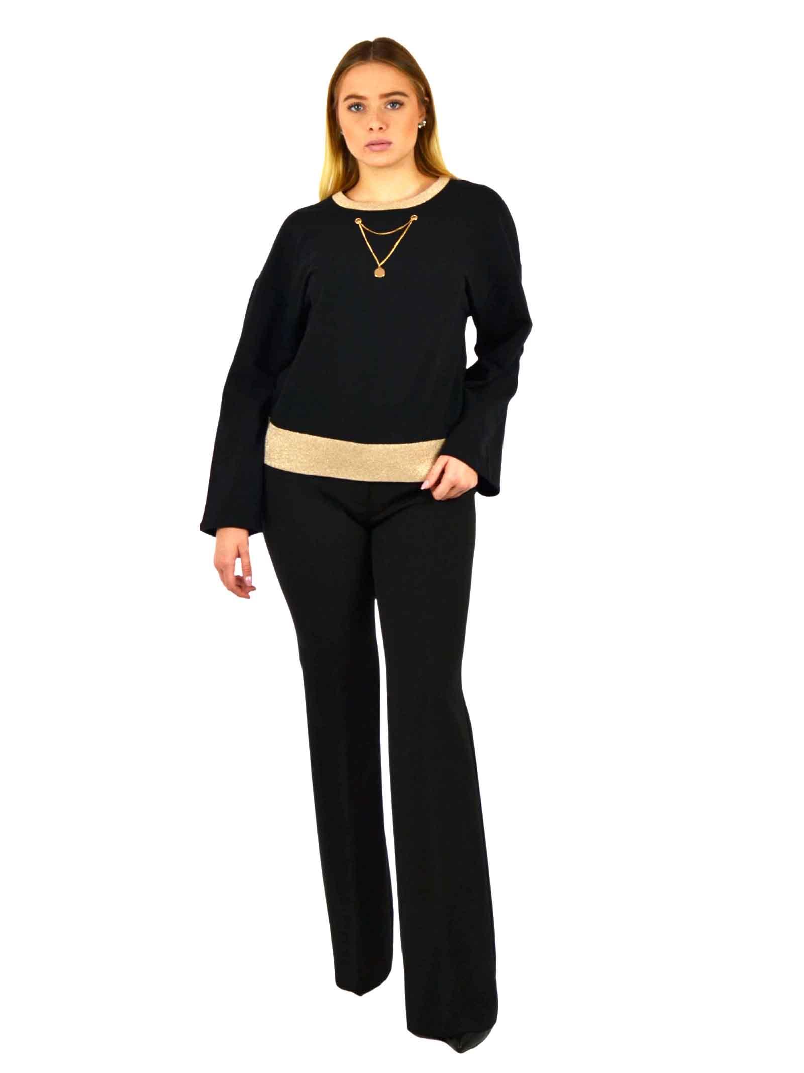 Fleece sweater, neckline and long sleeves LIUJO SPORT |  | TF0085F080222222