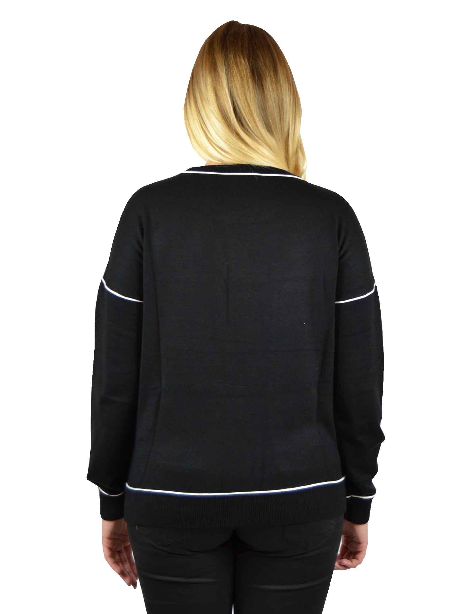 Crewneck sweater in wool  LIUJO SPORT      TF0102MA10L03156