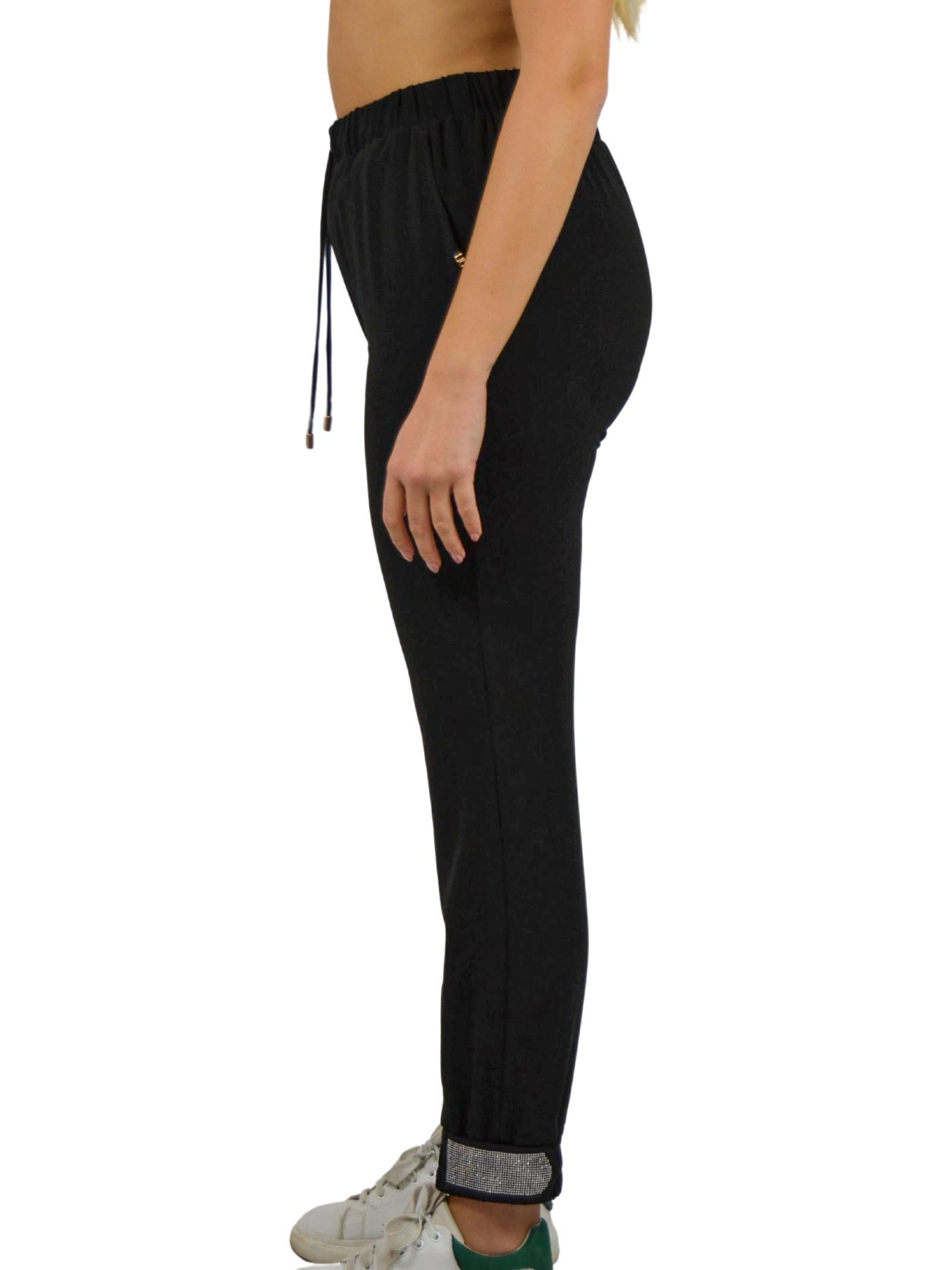 Trousers with elastic waistband plus drawstring LIUJO SPORT |  | TF0133T842322222