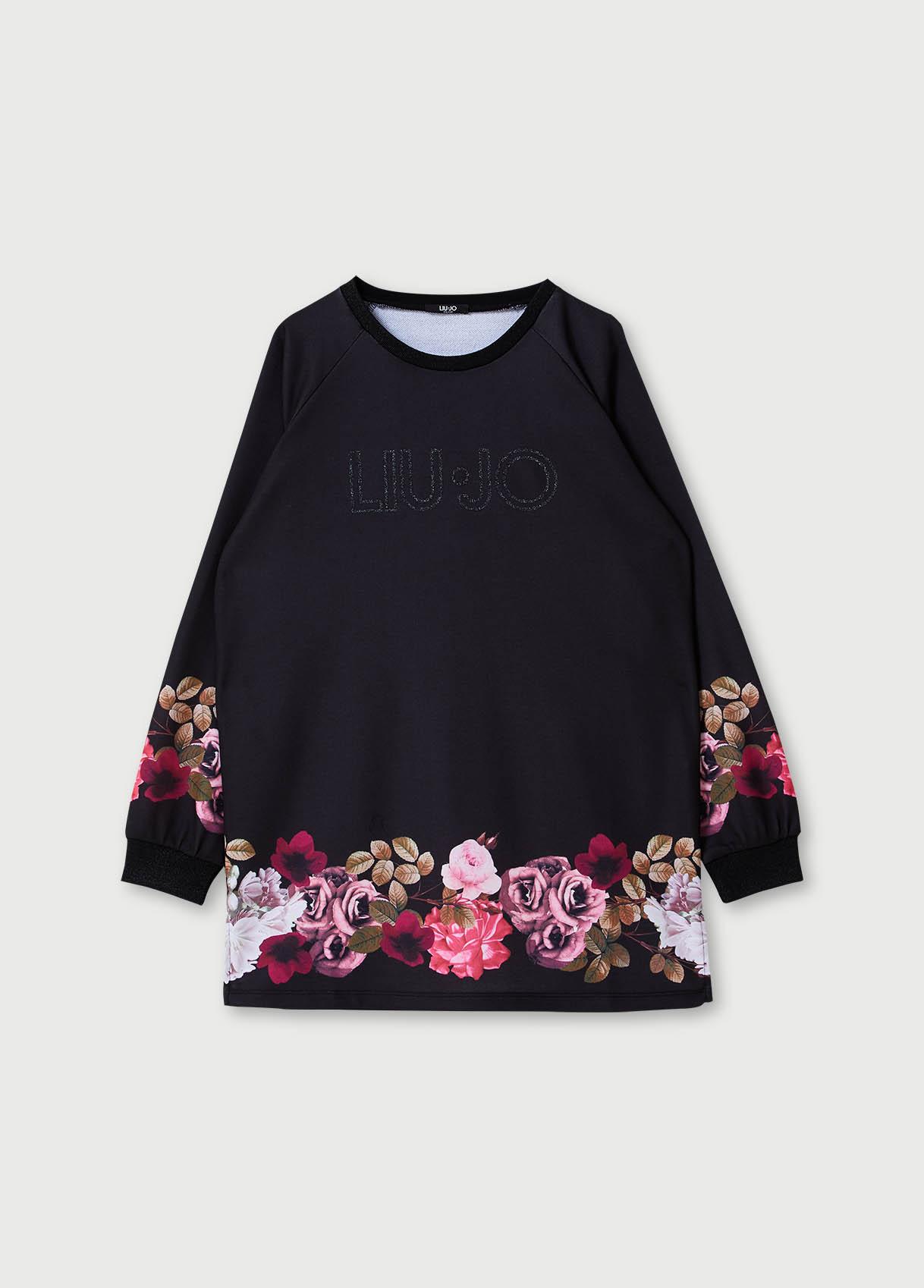 Oversize neckline sweatshirt LIUJO SPORT      TF0180F082622222