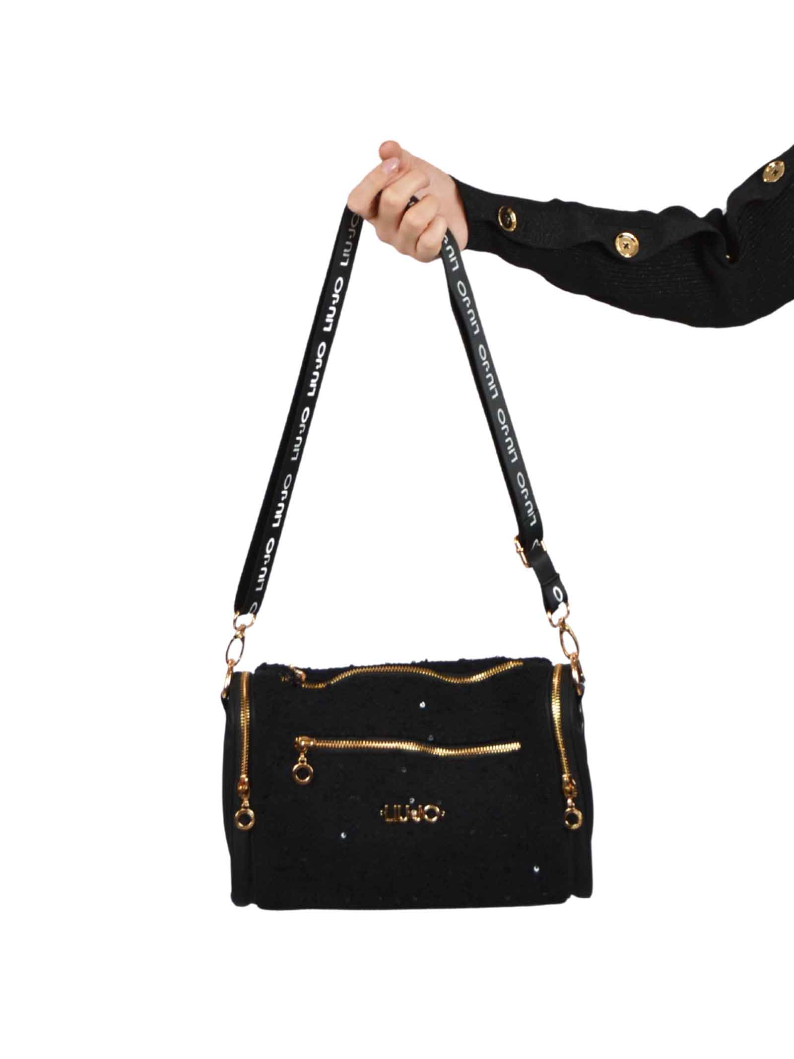 Bag with adjustable shoulder strap with logo LIUJO SPORT      TF0193T030004696