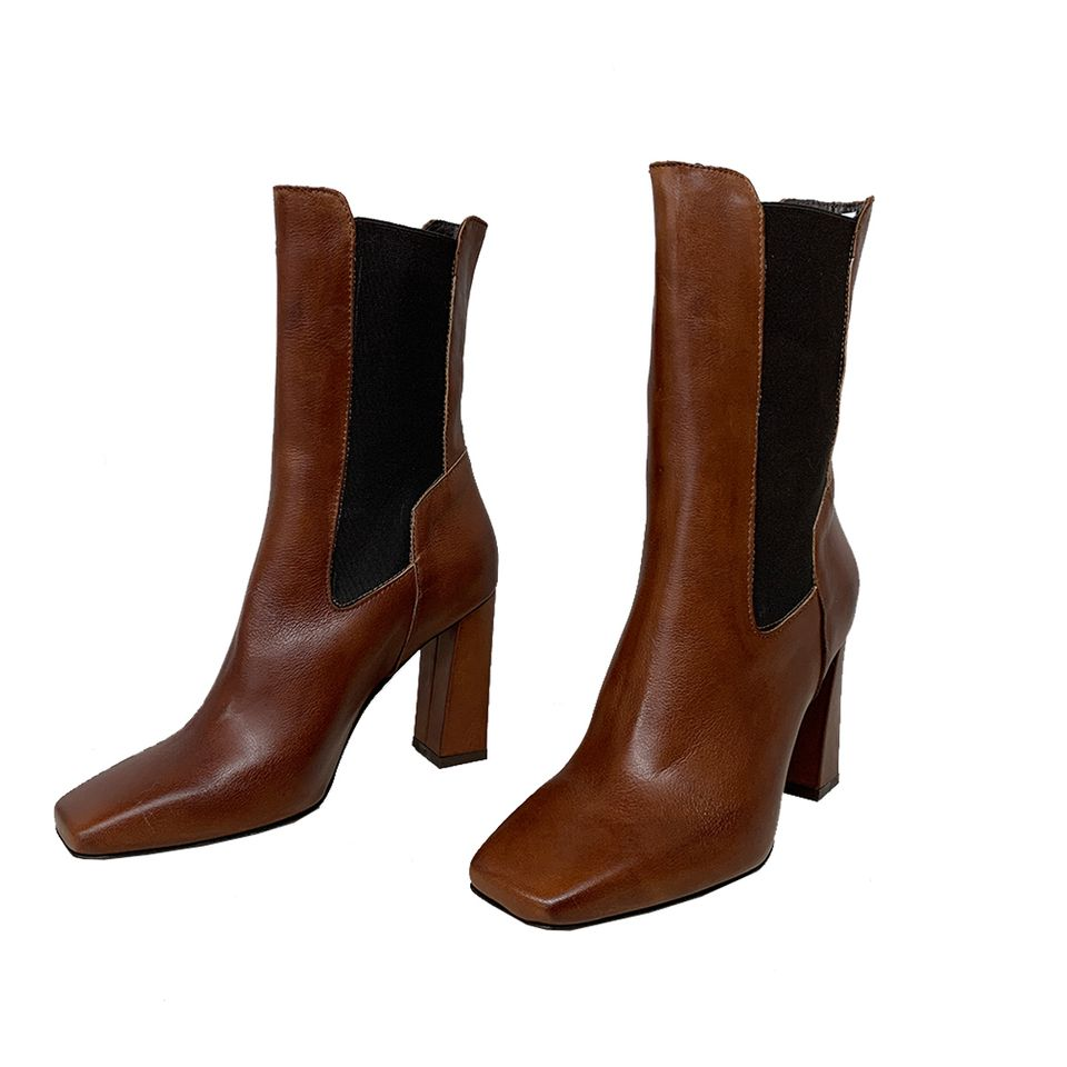 Leather boot  MELANY BOUTIQUE |  | 0841ADNAV02
