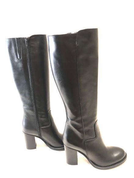 Stivale classico in pelle nero Noa | Stivali | VENERE01