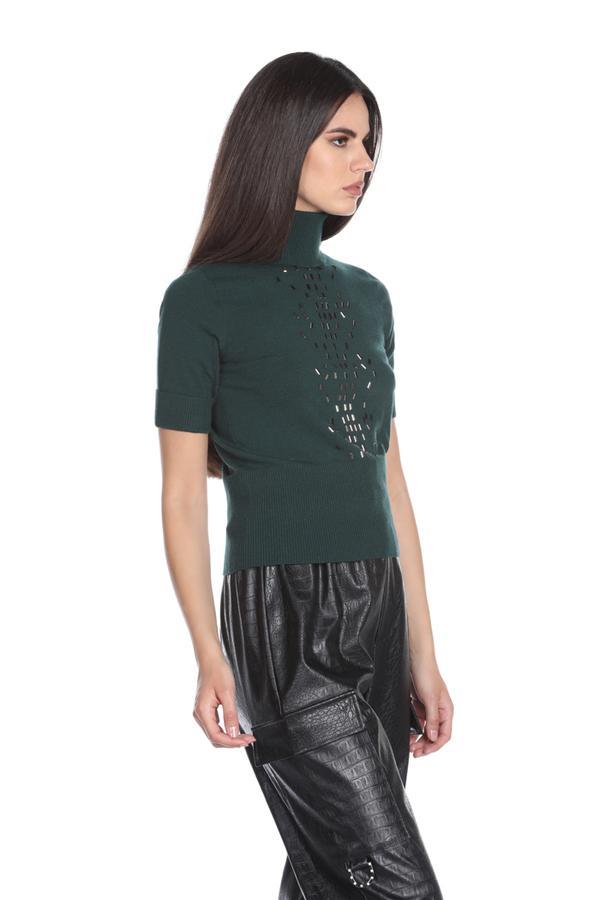 Turtleneck sweater with sequins RELISH |  | COSTARA1851