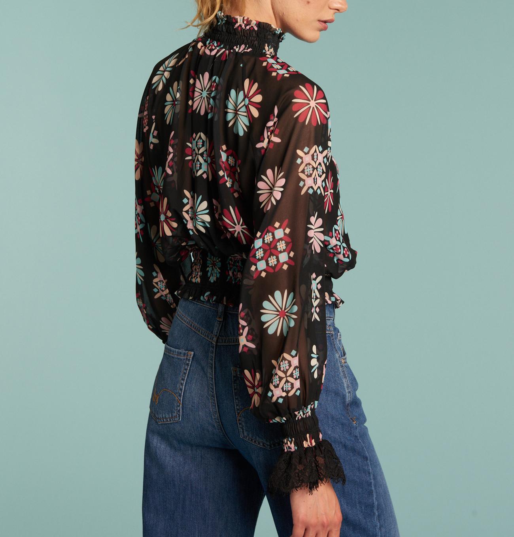 Camicia tipo blusa stampata DENNY ROSE   Camicia   DD4000901
