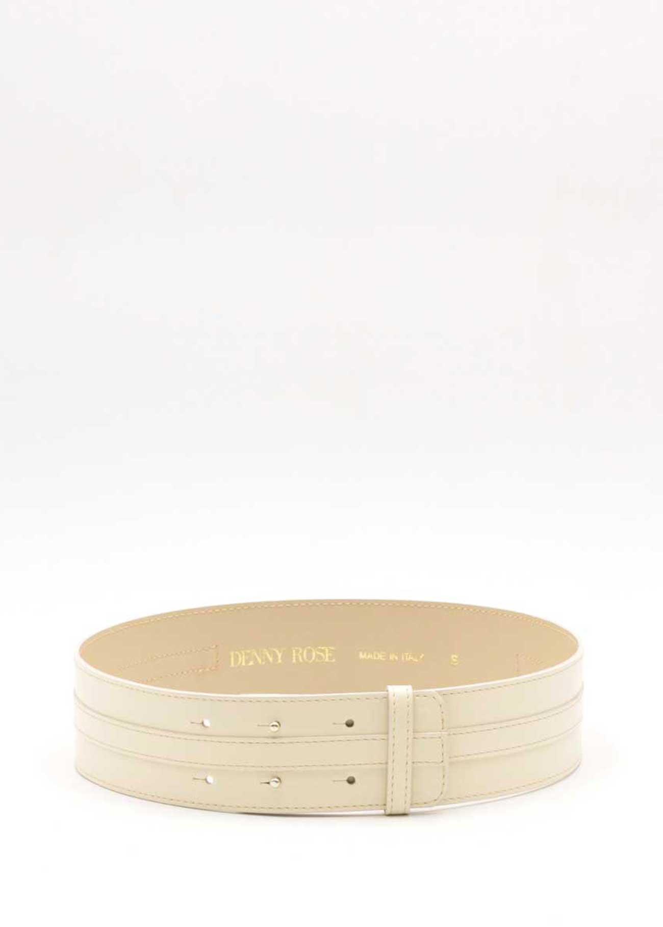 Cintura con lettere in oro DENNY ROSE | Cinture | DD900233928