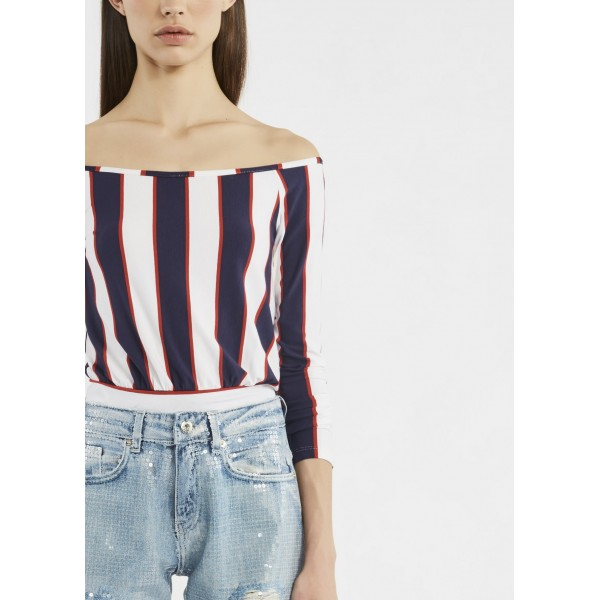 t-shirt stretch DENNY ROSE | Maglie | DD6001601