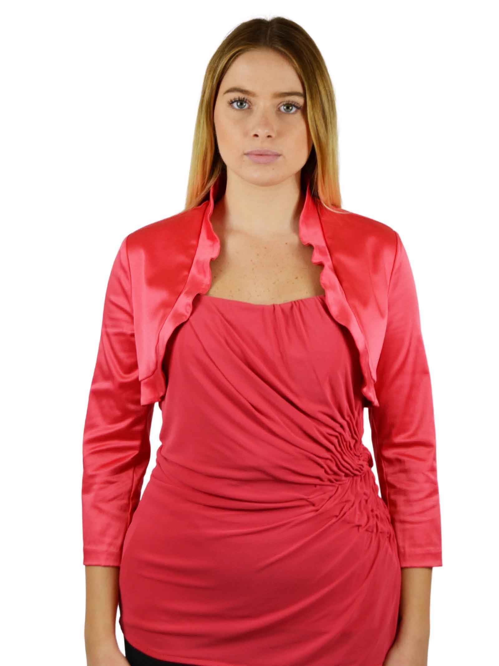 Short bolero Jacket with 34 sleeves  RINASCIMENTO |  | 0707CORALLO