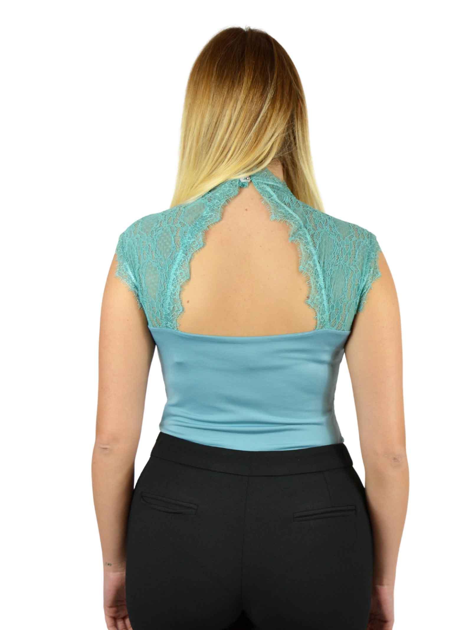 Bodysuit with mandarian collar RINASCIMENTO |  | PP29RR38AAVERDE