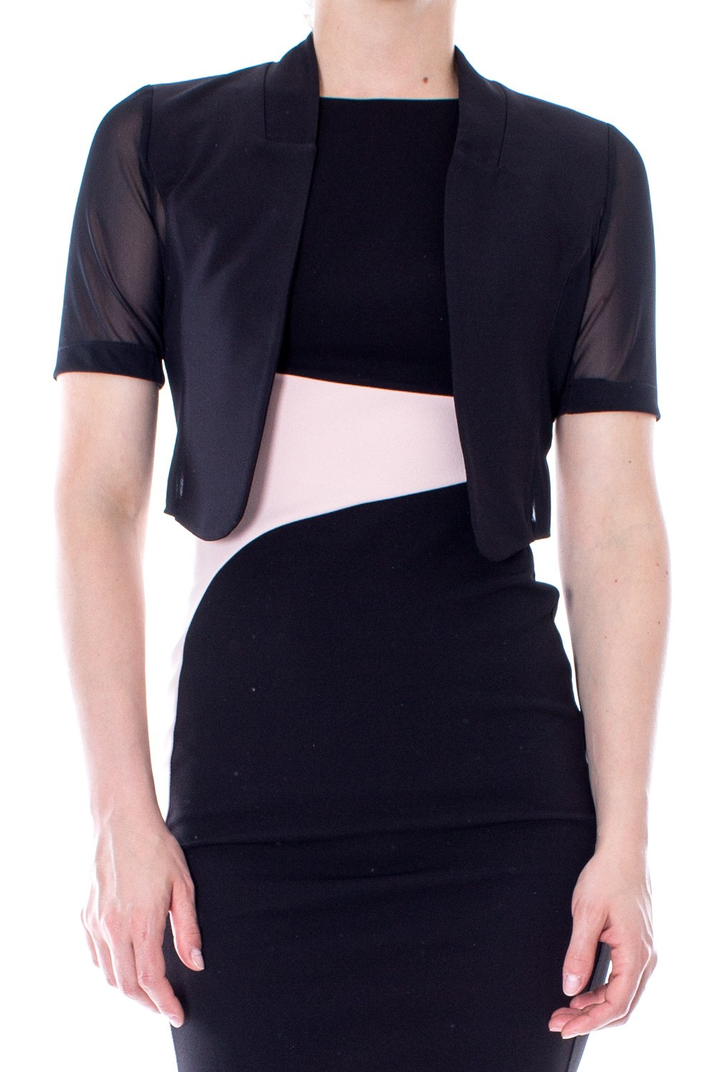 Cover half- shaped sleeves RINASCIMENTO |  | PP31RR83AANERO