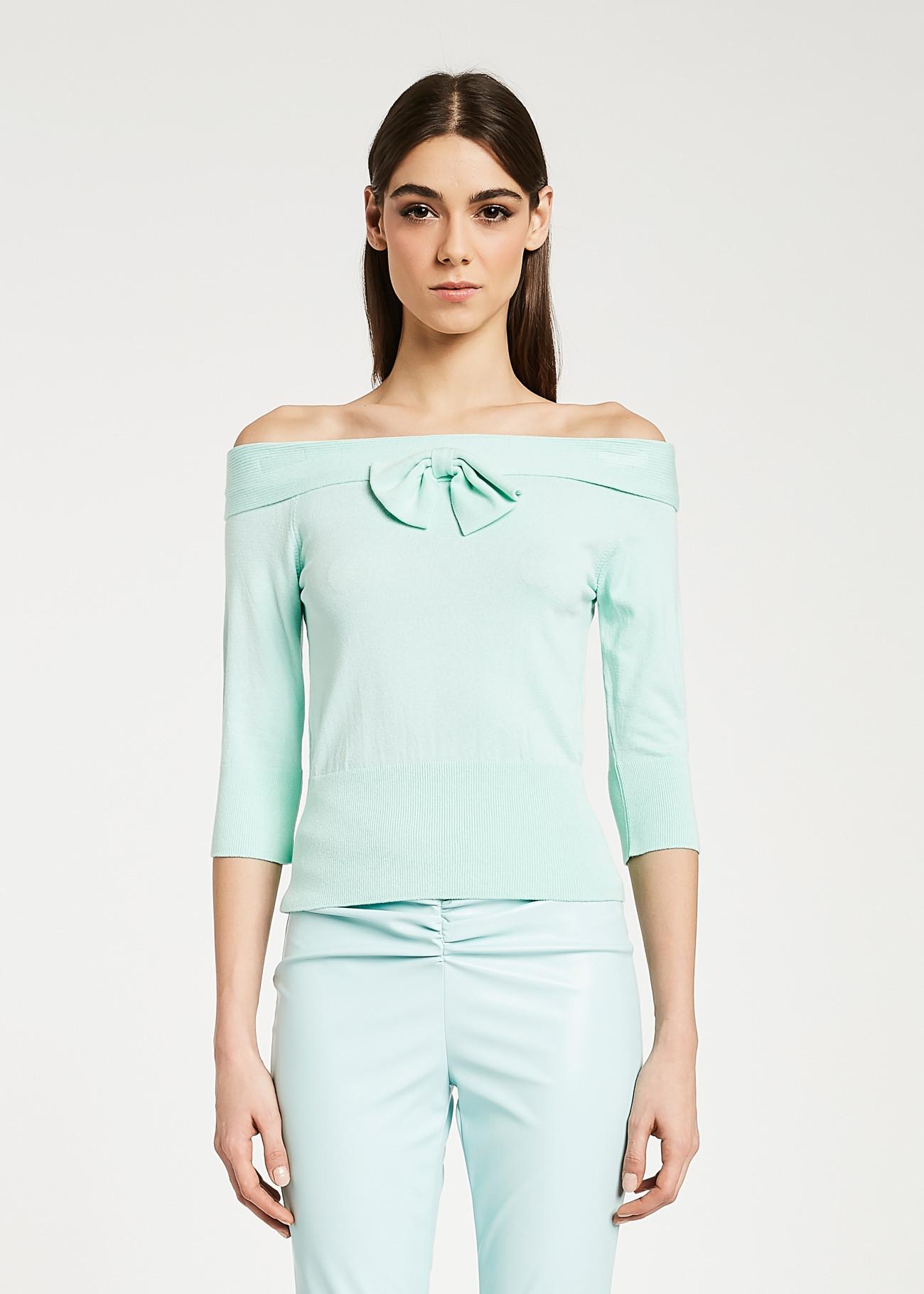 Sweater made of soft stretch viscose yarns DENNY ROSE |  | DD500212001
