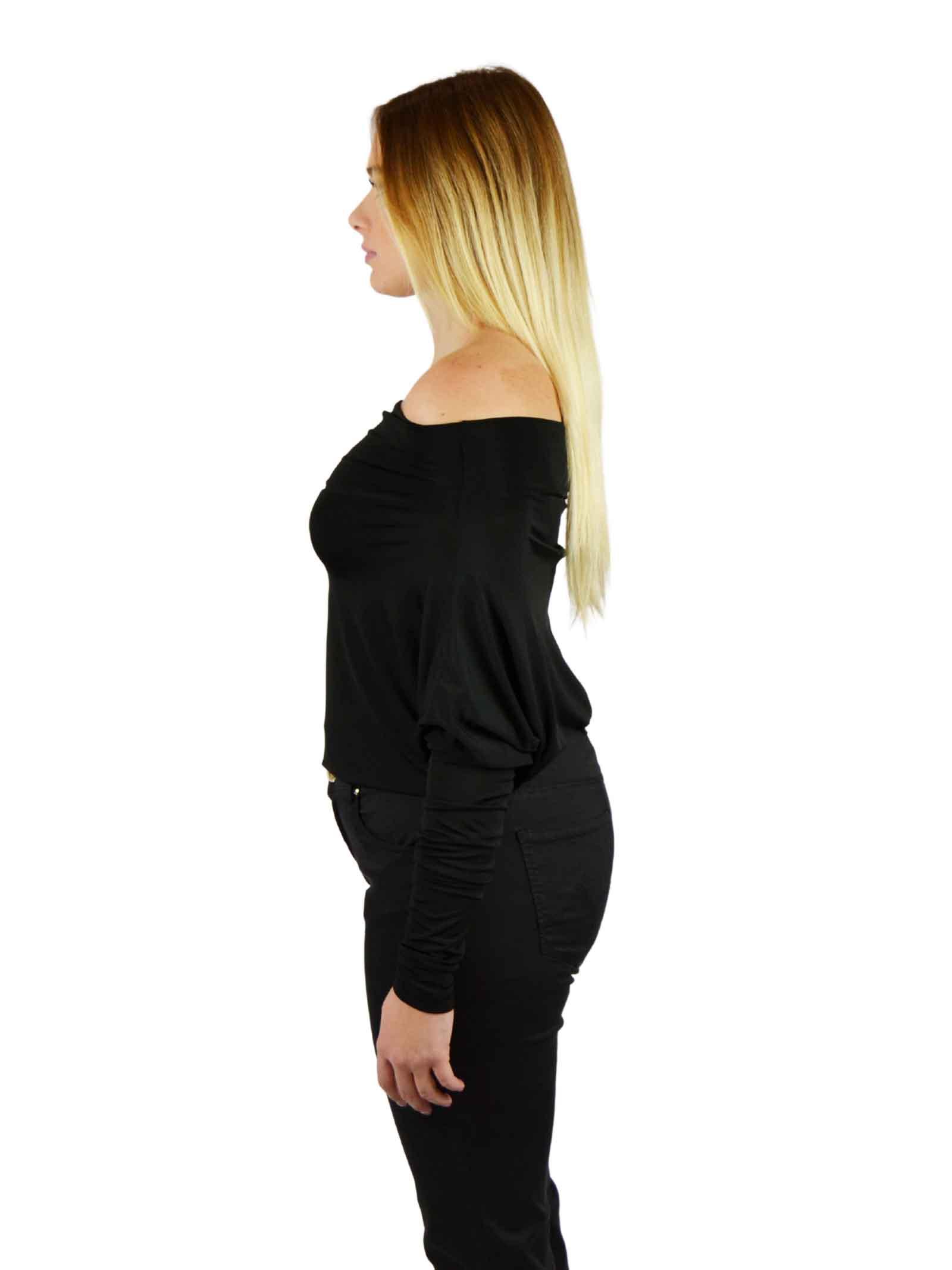 Lycra body sweater DENNY ROSE      DD60003NERO