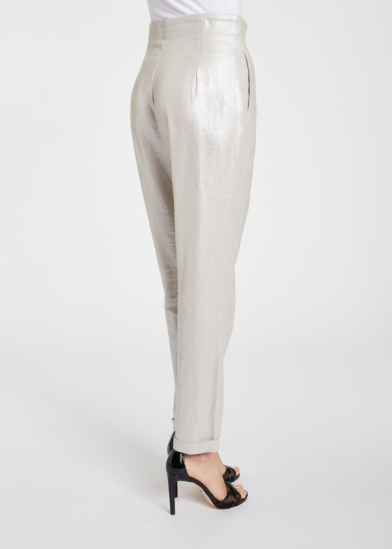 Trousers made of viscose and linen GAUDI FASHION |  | FD250312223