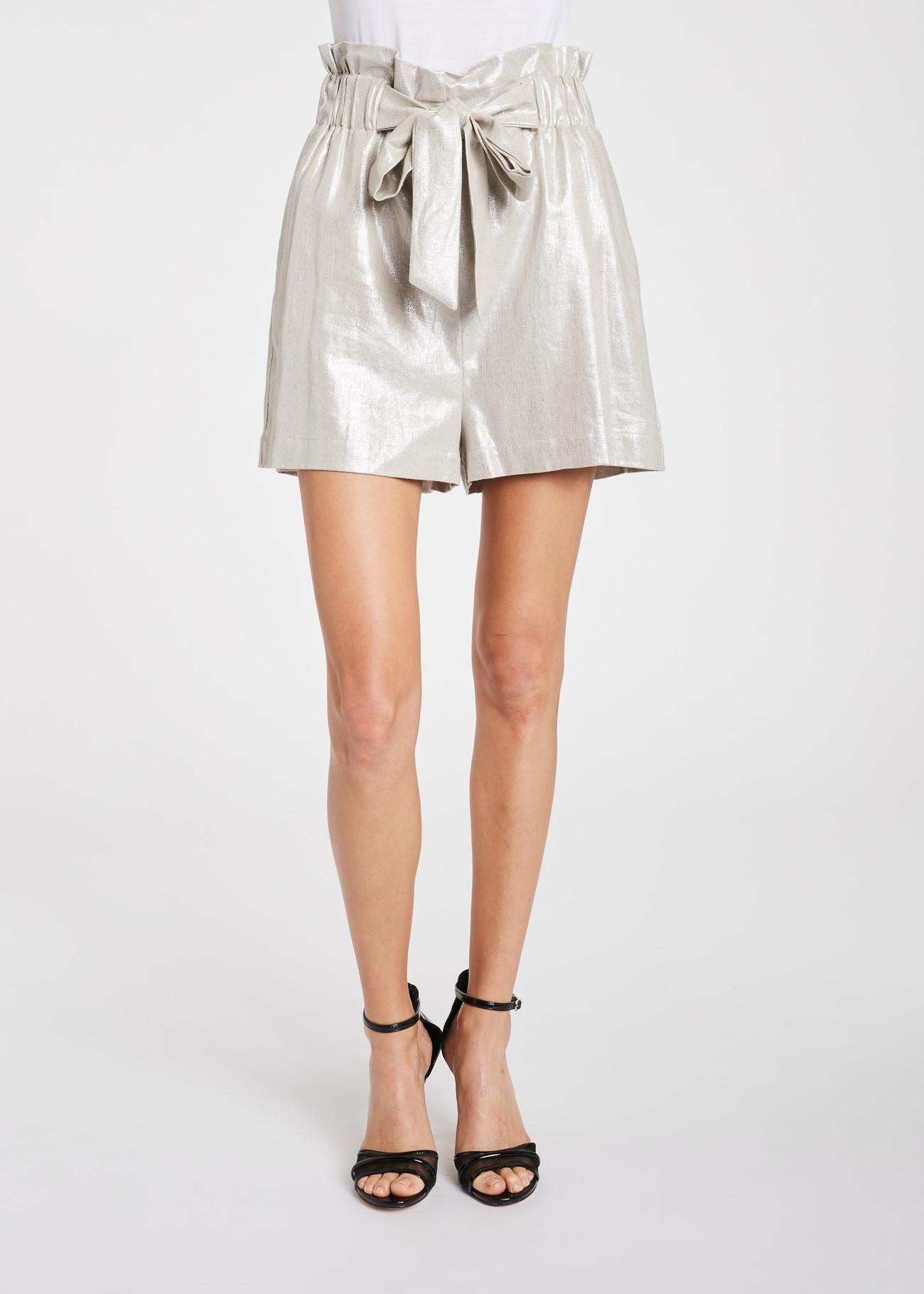 Made in viscose and linen shorts GAUDI FASHION |  | FD250322223