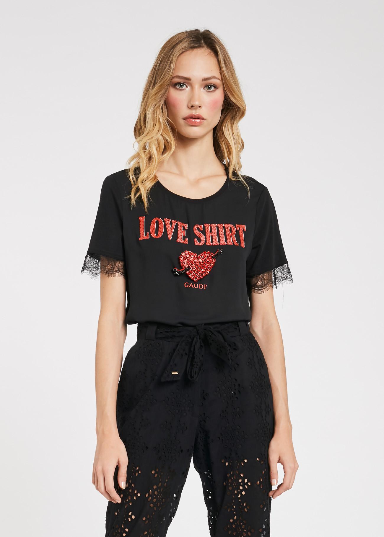 T- shirt dalla linea regolare GAUDI FASHION | Maglie | FD640162001
