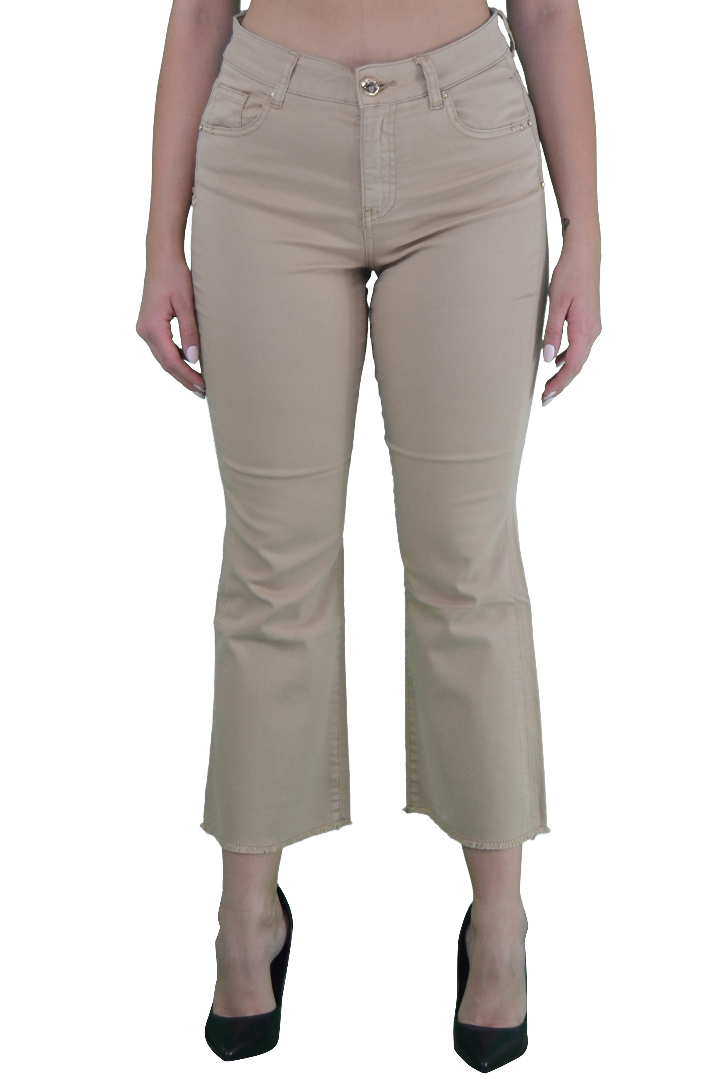 5-pocket trousers, in stretch cotton blend GAUDI JEANS |  | BD250172221