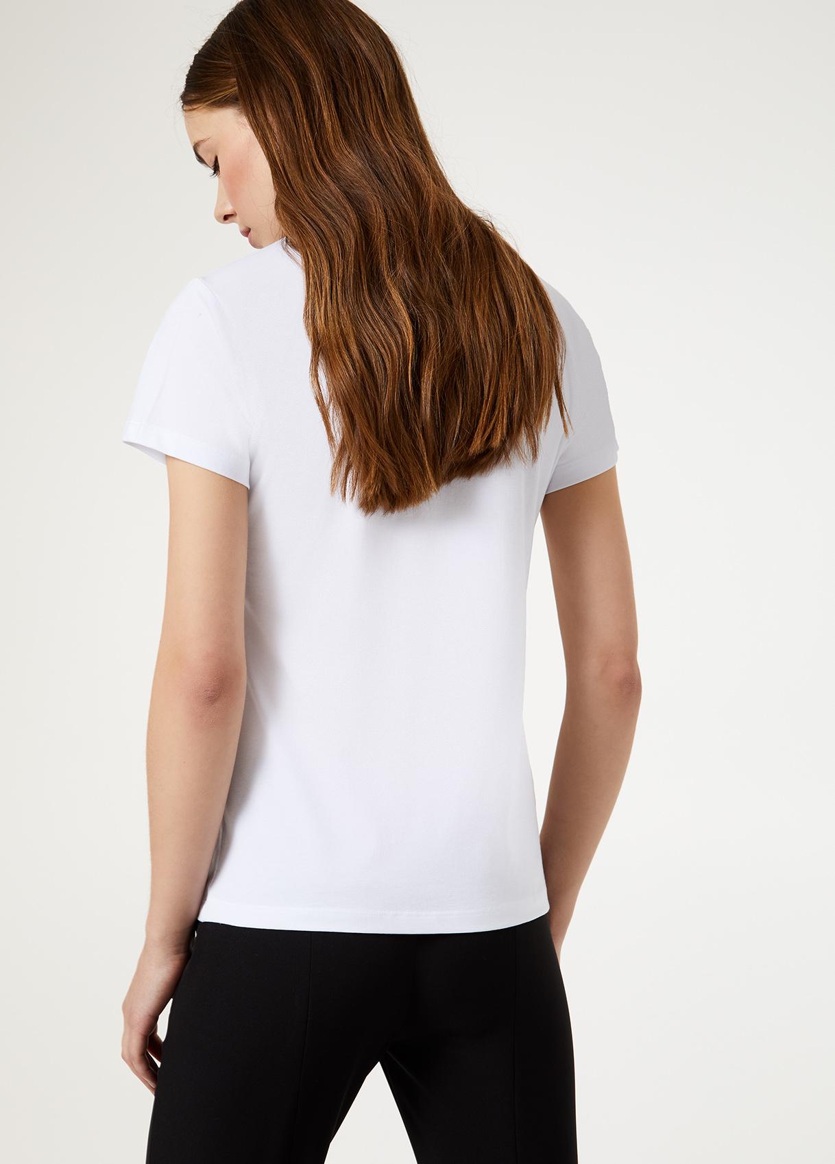 Tshirt con paillettes LIUJO GOLD | Maglie | PA0111J591022222