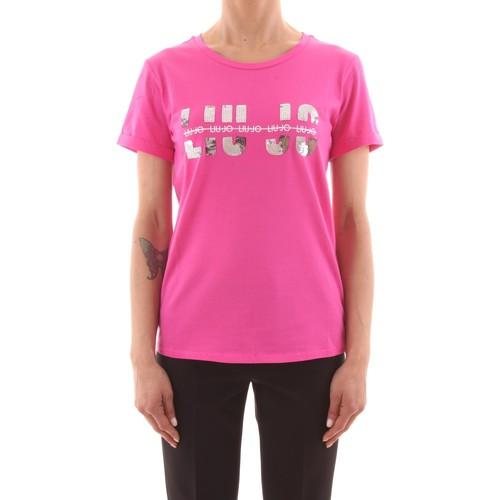 T-shirt in cotone LIUJO SPORT | Maglie | TA0023J50003X0263
