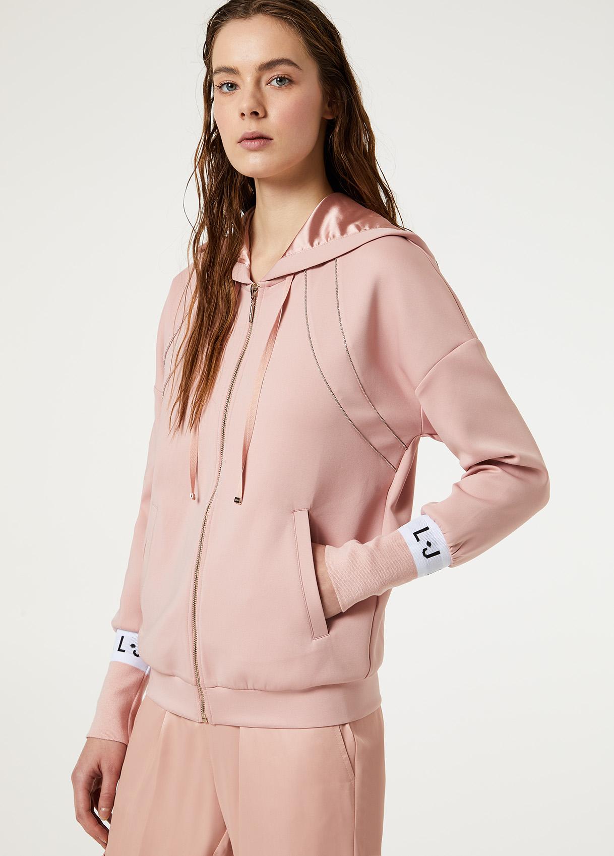 Sweathshirt made of stretch fabric  LIUJO SPORT |  | TA0076J591822222