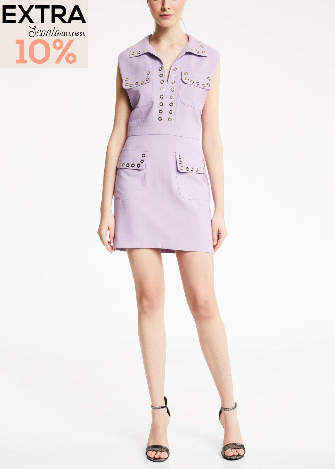 Dress with shirt collar  DENNY ROSE |  | DD100052632