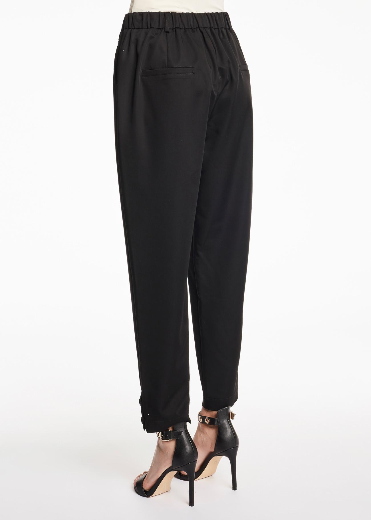 Pantalone con elastico e risvolto giù GAUDI   Pantaloni   FD250052001