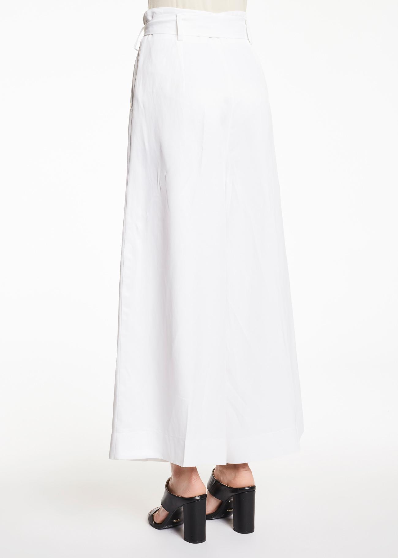 Pantalone largo con cintura GAUDI | Pantaloni | FD250312100