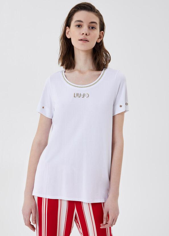 Stretch modal cotton jersey  LIUJO |  | TA1035J607211110