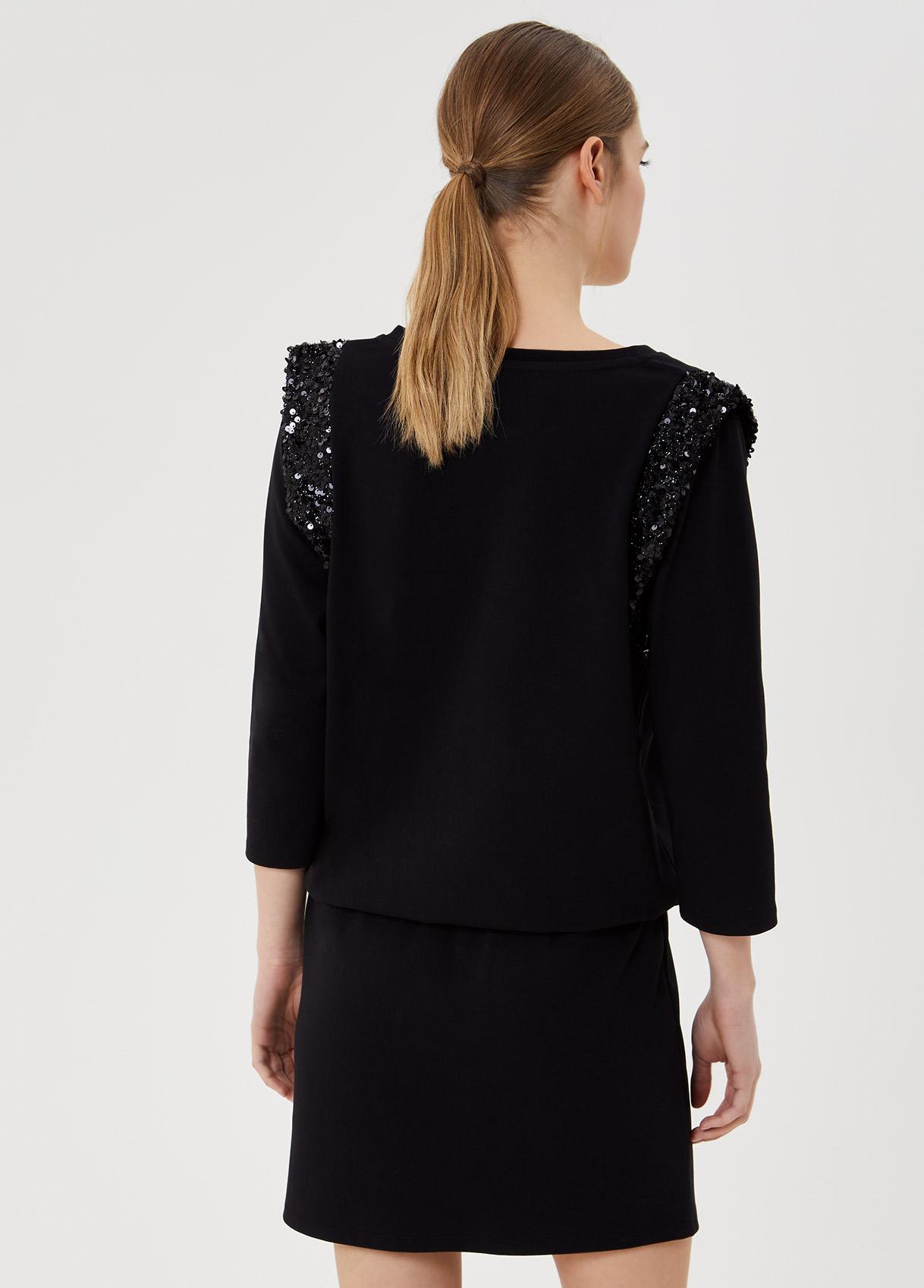 Short dress with sequins  LIUJO SPORT |  | TA1060J614422222