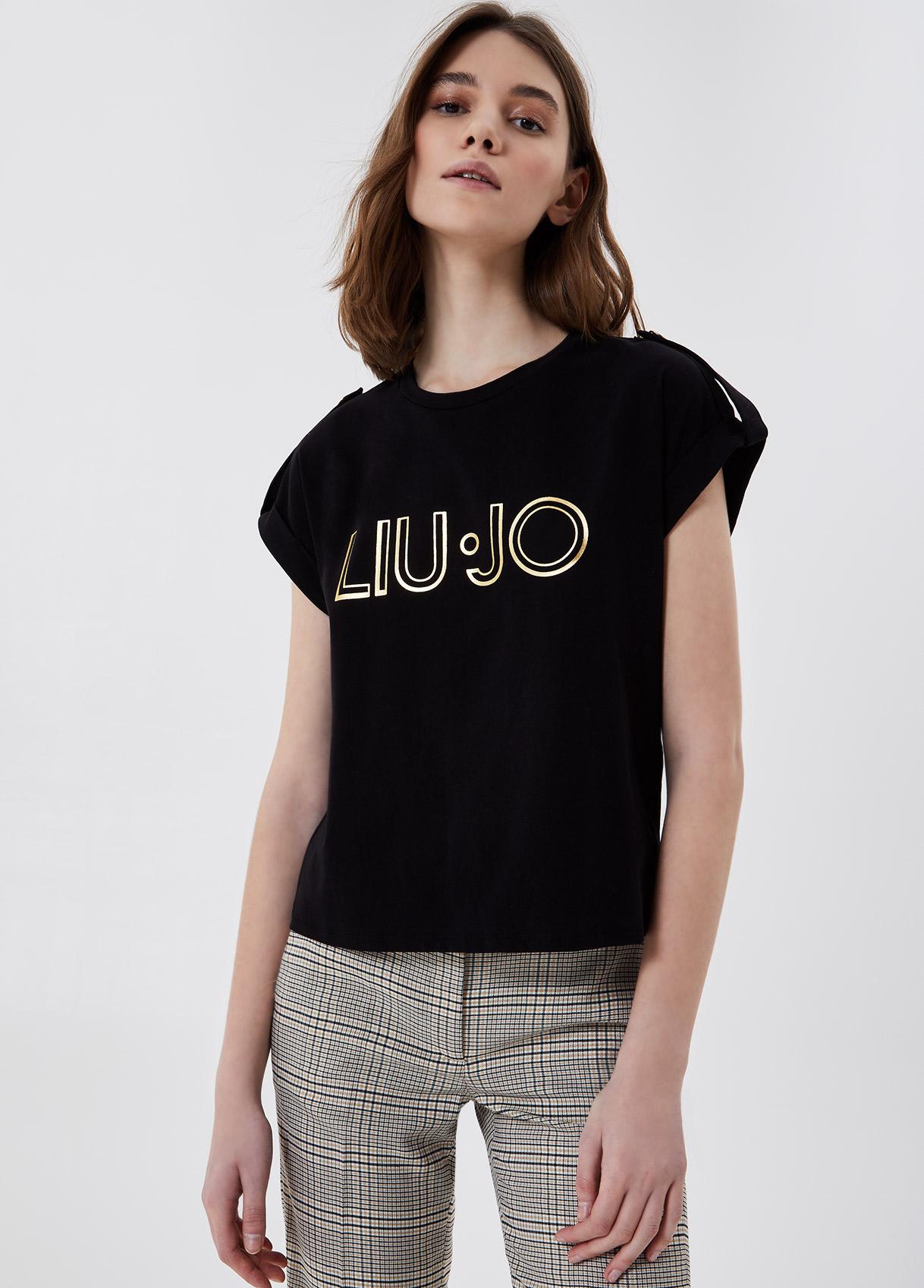 T-shirt with logo  LIUJO |  | CA1099J500322222
