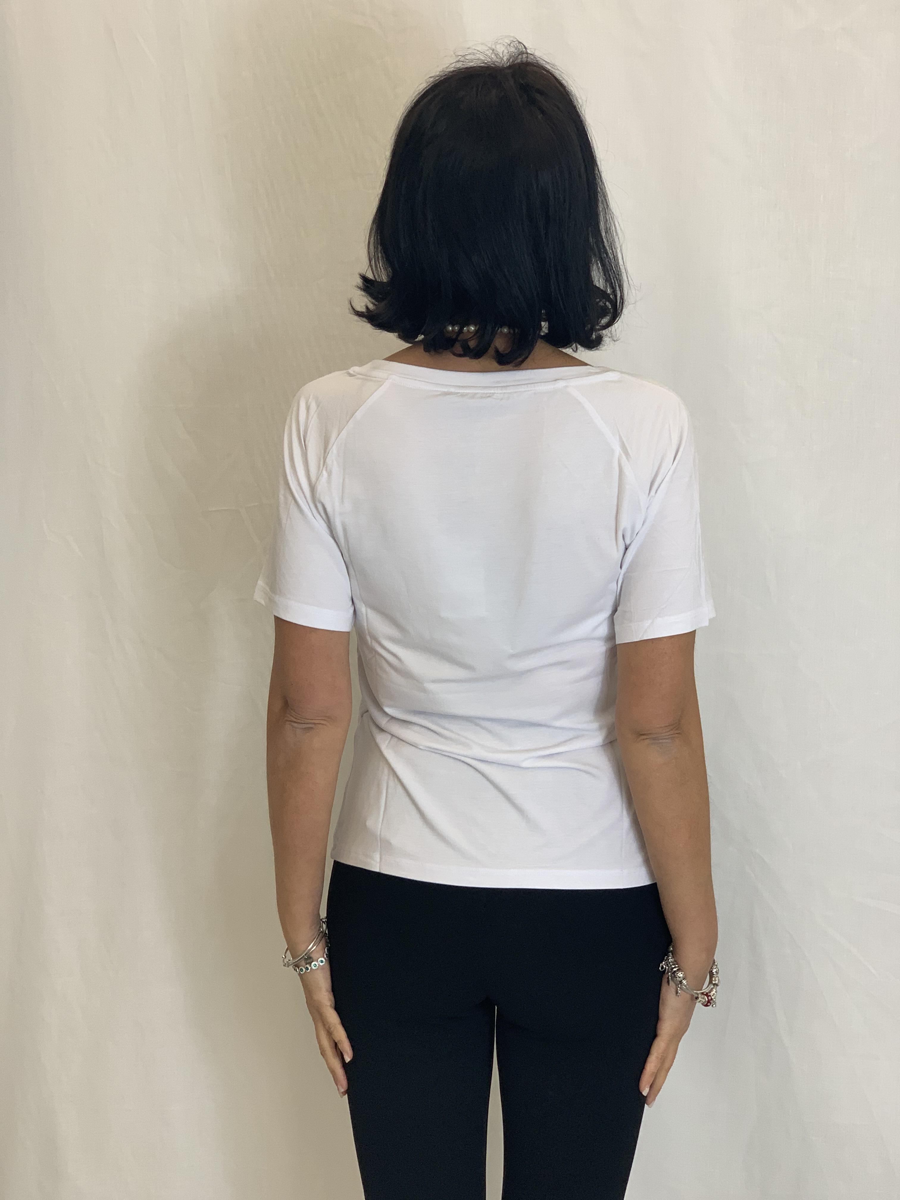 T-shirt con logo LIUJO | Maglia | TA1012J790511110
